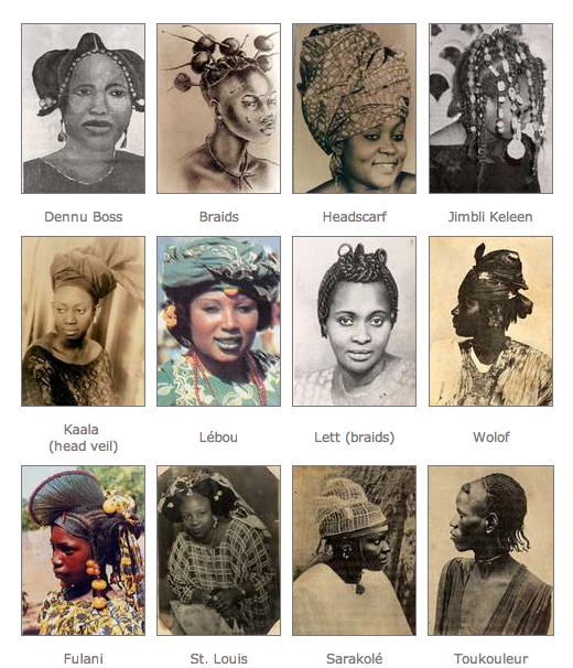 Senegalese hairstyles and names
