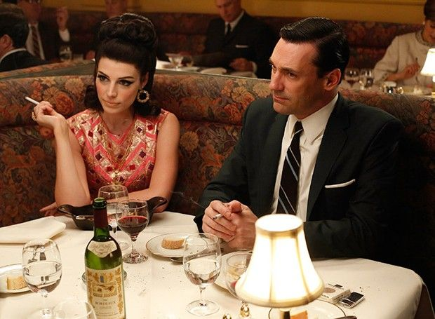 What character in Mad Men, what wine?