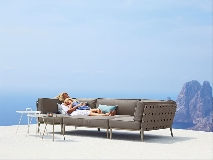 CANE LINE TEX® The New Cane Line Tex® Outdoor Furniture Collection Combines