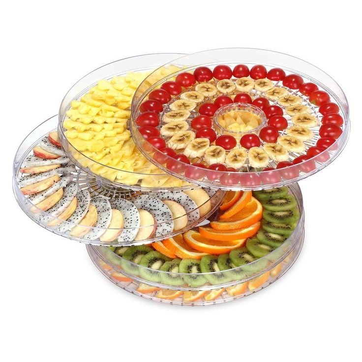 Food Dehydrator Fruit Dryer Machine Electric 5 Tier Food Preserve Nutural Health