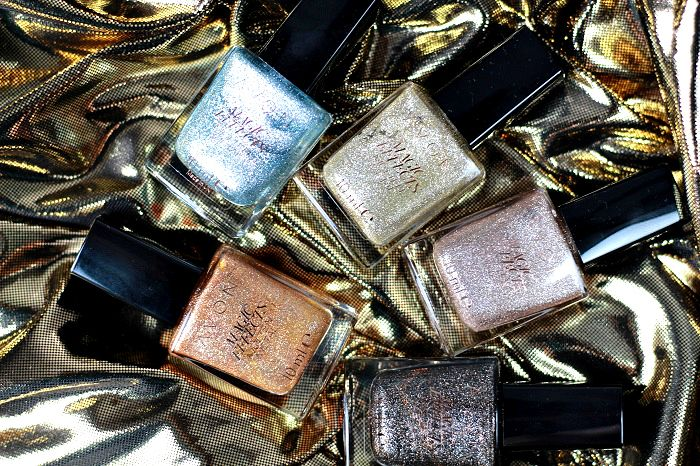 Avon Magic Effects Molten Metal Nagellacke