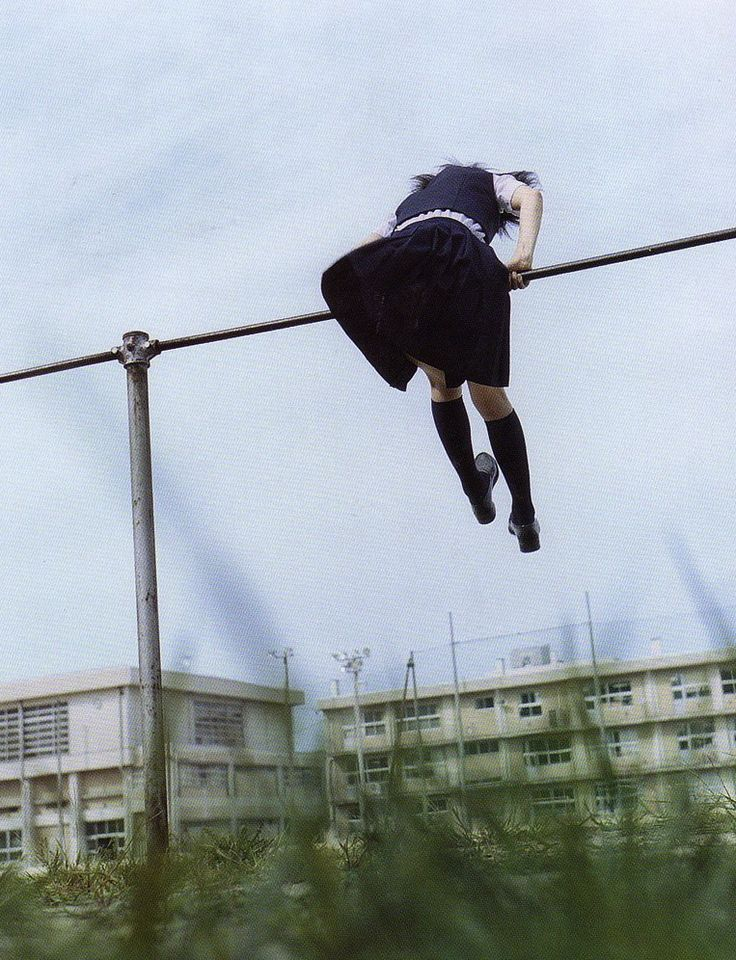 Blue (2001). Directed by Hiroshi Ando.