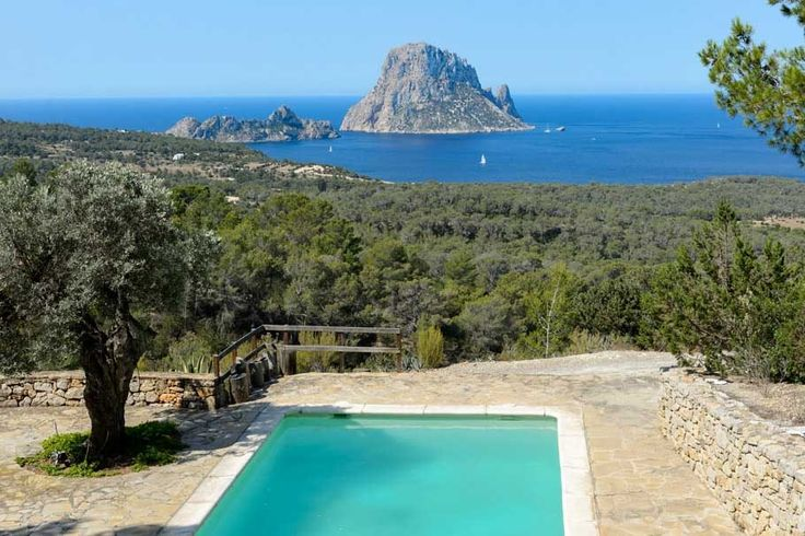Pool. Views. Garden. Olive trees. Country estate, west coast of Ibiza. Property for sale. Ref. 575100, by Kelosa