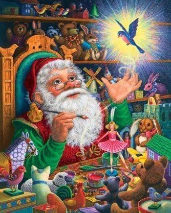 Magic Touch Wallpaper Pinterest Santa, Christmas and Santas