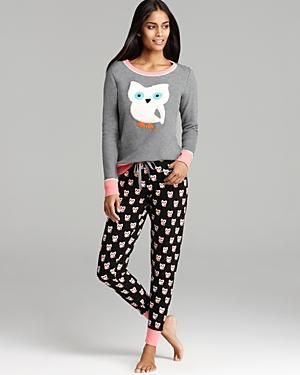Owl pyjamas. So cuuute..