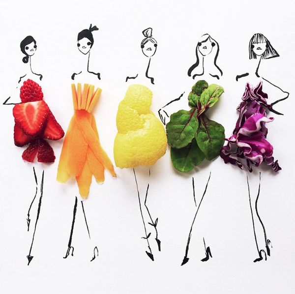 food fashion art mixed fruits / Gretchen Röehrs