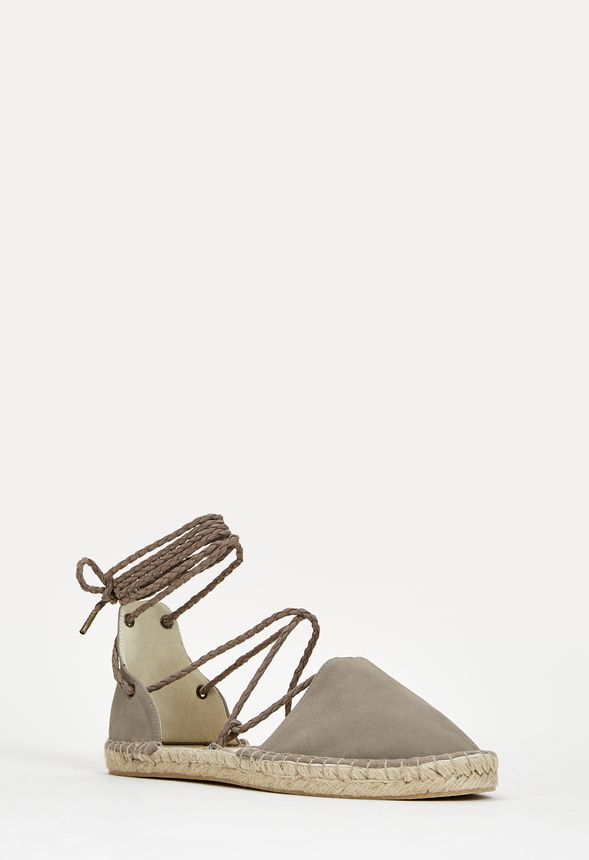 Take your espadrilles to the next level with the trendy Mervette sandal. The cutout detail and wraparound lace up closure makes these a standout staple in any shoe closet. ...