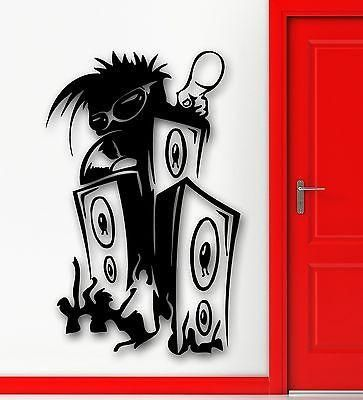 Wall Stickers Vinyl Decal Music Speaker Sound DJ Night Club Party Unique Gift (ig1759)