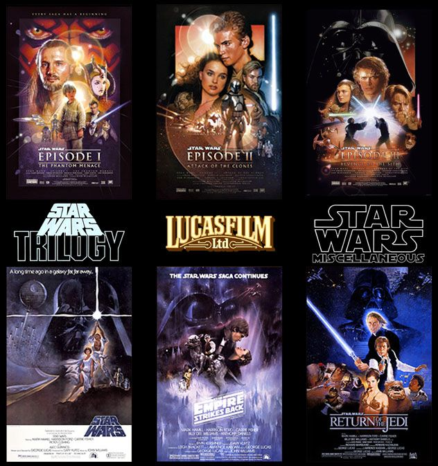 "I like the ""actual"" old star wars movies the best... ya know solo and what not. However I'm looking forward to what disney has in store for us!"