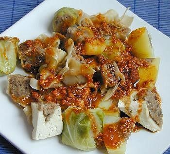 tasty food lovers: Steamed Dumplings (Siomay Bandung) ~~ Indonesian snack