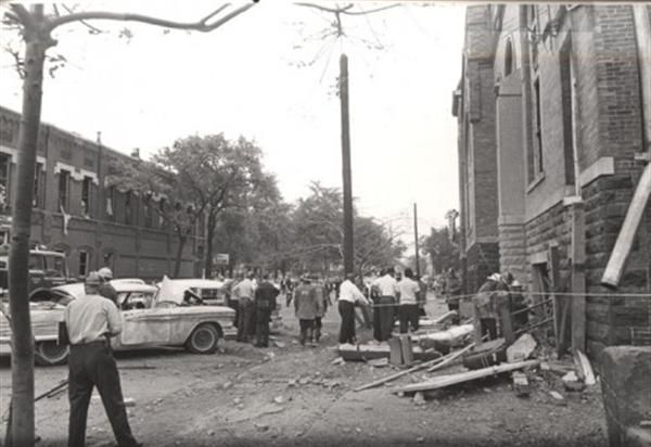 On Sept. 15, 1963, four black girls are killed when a bomb explodes during Sunday services at a Baptist church in Birmingham, Alabama, the deadliest act of the civil rights era.