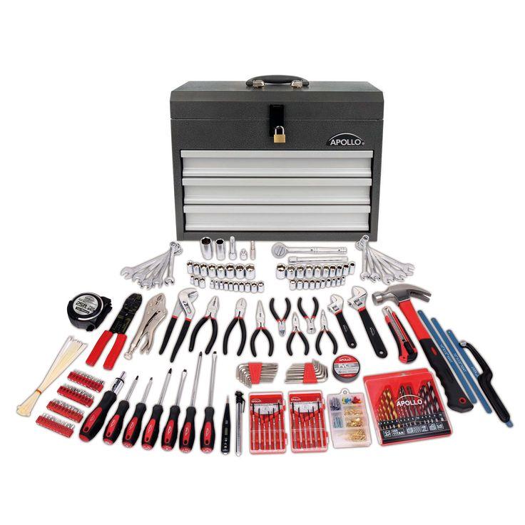 Apollo Precision Tools 300 Piece All Purpose Mechanics Tool Kit