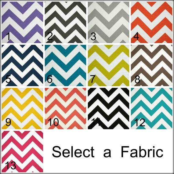 Chevron Curtain Zippy Valance ZigZag Curtain by CreativeTouchDecor