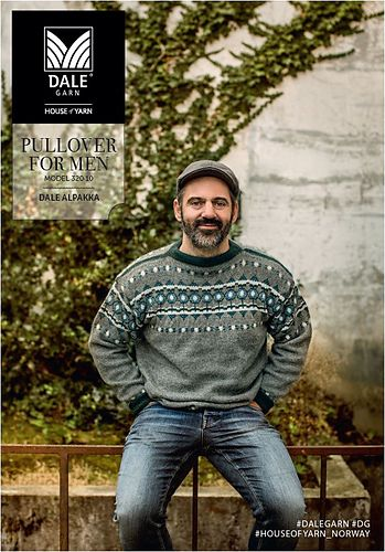 The Jaguar Pullover for Men is part of the Dale Garn 320 Urban Retro collection. This beautiful pullover is an updated version - in color and fit - of a pattern from the Dale Garn archives.