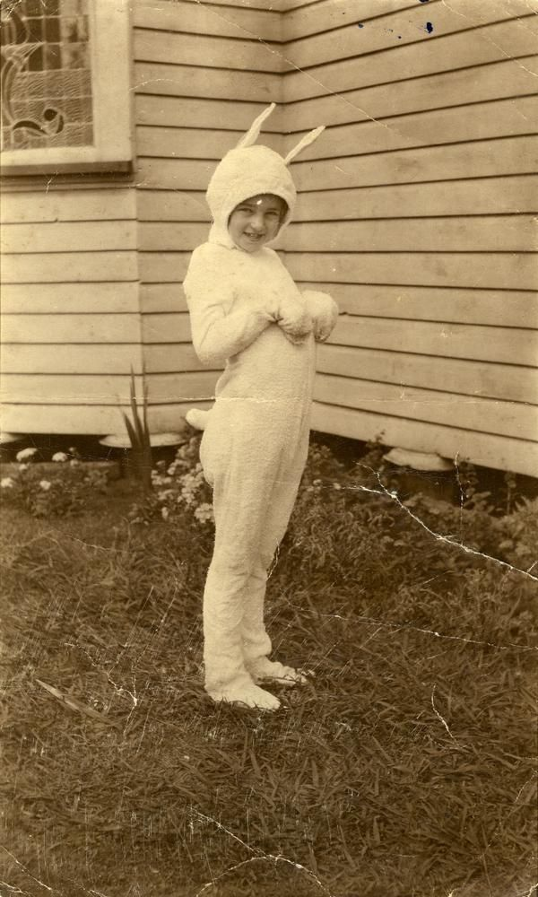 Sweet Easter rabbit from yester-year ~*~ (spring, season, vintage, photo, Easter)