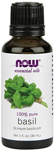 Now Foods Basil Oil, 1 Ounce * Startling review available here  : NOW essential oils
