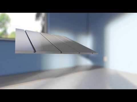 Lav byggehøjde - Roth Compact pladepakke dækker 8,9 m2