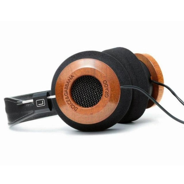 Dolce & Gabbana x Grado Labs Mahogany Headphones