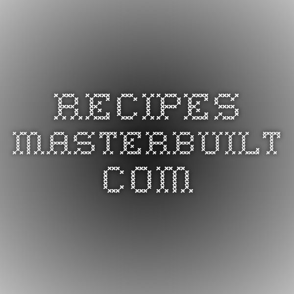 recipes.masterbuilt.com