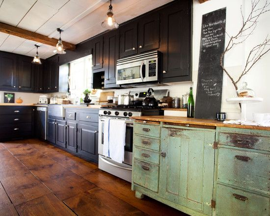 Distressed Green Kitchen Cabinets 54 best green kitchens images on pinterest | kitchen, kitchen