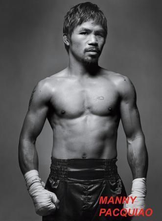 Manny Pacquiao Fighter Poster Standup 4inx6in