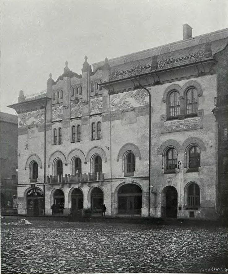 Narodowy Stary Teatr im. Heleny Modrzejewskiej, Kraków - 1902 rok, stare zdjęcia