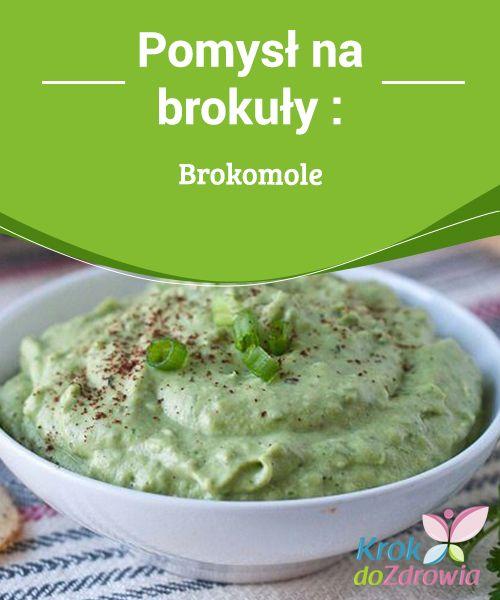 Pomysł na brokuły: #Brokomole  Brokomole to niezwykle oryginalny pomysł na #podanie brokułów, dzięki której zwiększysz ich spożycie na co dzień. Możesz #podawać ten dip jako dodatek do #warzywnych chipsów.