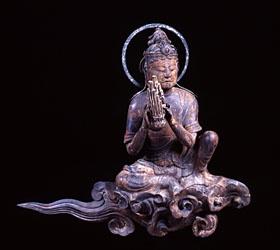 Japanese National Treasure, Statue of Unchu Kuyo Bosatsu 雲中供養菩薩像 南4号像(平等院)