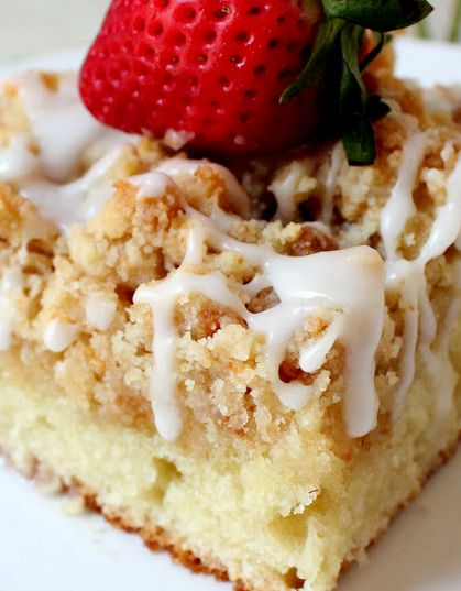 "Martha and Cake Boss = The PERFECT Crumb Cake. ""I have tried many basic coffee cake recipes and attempted to tweek them...this is by far my favorite BEST"" (The Cottage Market)."