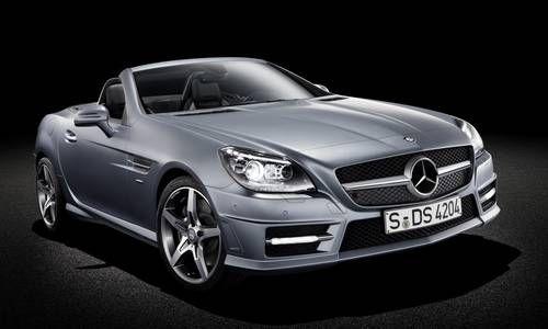 #MercedesBenz #SLK. La coupé sportiva filante, spigolare dall'aspetto ribassato.