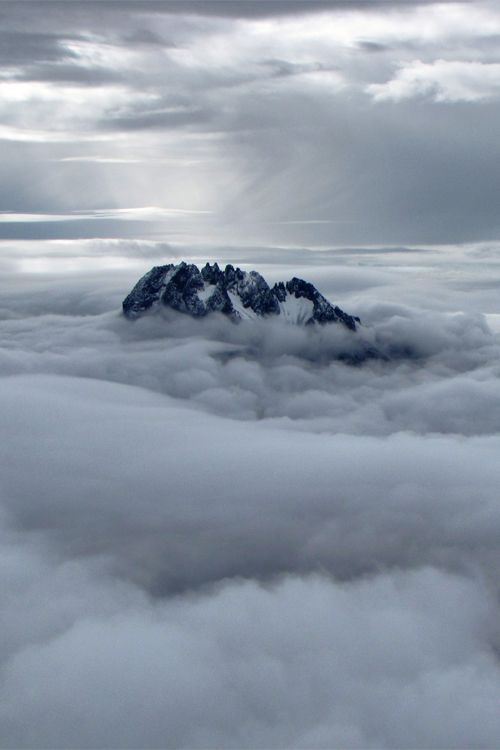 .in the clouds