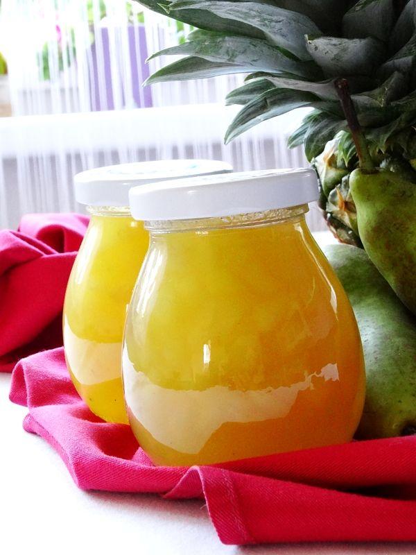 Hrušky v medu s ananasem a skořicí - Zámořská specialita, která připomíná med a omamně voní.