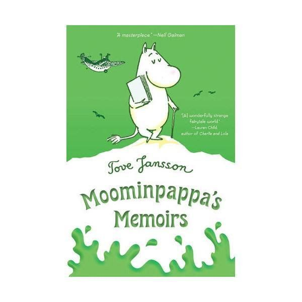 Before he had a family, Moominpappa led a life of adventure and intrigue. But he's never told his story until now. He has a bad cold, and it's the perfect time to remember his youthful endeavors and to ponder the experiences which have made him the remarkable Moomin he is.Original titleMuminpappas bravader, 1950 (The Exploits of Moominpappa)Second editionMuminpappas memoarer,1968 (Moominpappa's Memoirs)