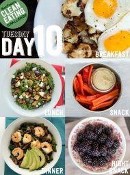 DEN 10 - přijměte výzvu a zkuste 14 denní čistou stravu