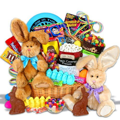 12 best gift hampers images on pinterest gifts aqua and have a couple youngsters on your gift list this easter heres an easter gift basket for the two of them to share it features 2 of everything incl negle Images