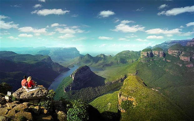 Panorama Scenic Route - Blyde River Canyon - Mpumalanga - Suggested route from Johannesburg to Kruger National Park.