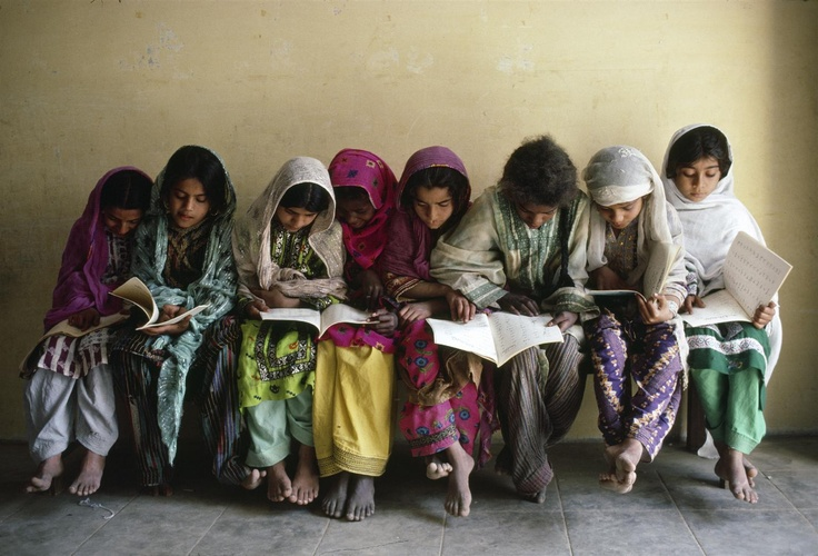 Photo of the week!     We reached back in the archives to 1983 for this week's pic, from a school in Karachi, Pakistan.     Books are the fuel that power a child's intellect and dreams.    www.unicef.org.nz