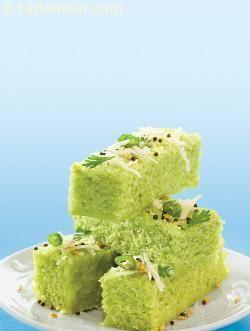 Toovar Methi Na Dhokla ( Gujarati Recipe) recipe | Gujrati Recipes | by Tarla Dalal | Tarladalal.com | #568