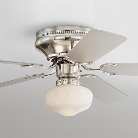 Ideal  Casa Vieja Hillhurst Hugger Ceiling Fan Deckenventilatoren Mit BeleuchtungBuffet LampenVentilator