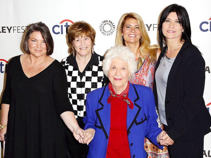 The Facts of Life Cast Members Reunite for 35th Anniversary Sept 2014  Mindy Cohn, Gerri Jewel, Charlotte Rae, Lisa Whelchel and Nancy McKeon