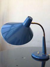 rare 1950 grande lampe vintage signed STILUX space age Guariche modernist