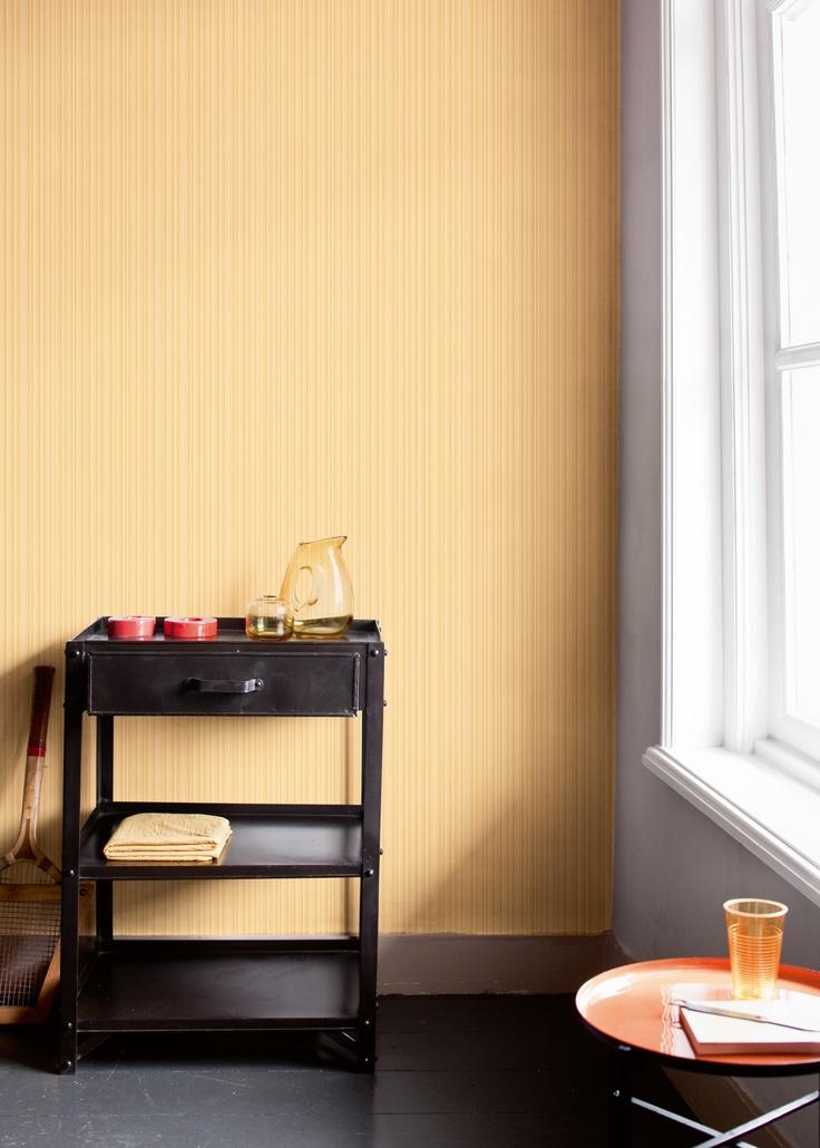 ... over Behang oranje op Pinterest - Koper, Kleuren en Retro vintage
