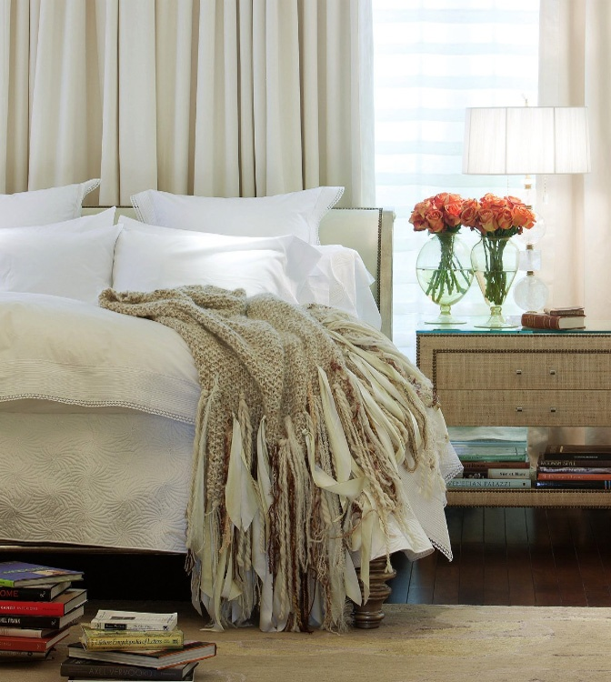 96 best white cream tan and beige images on pinterest - Beige and white bedroom curtains ...
