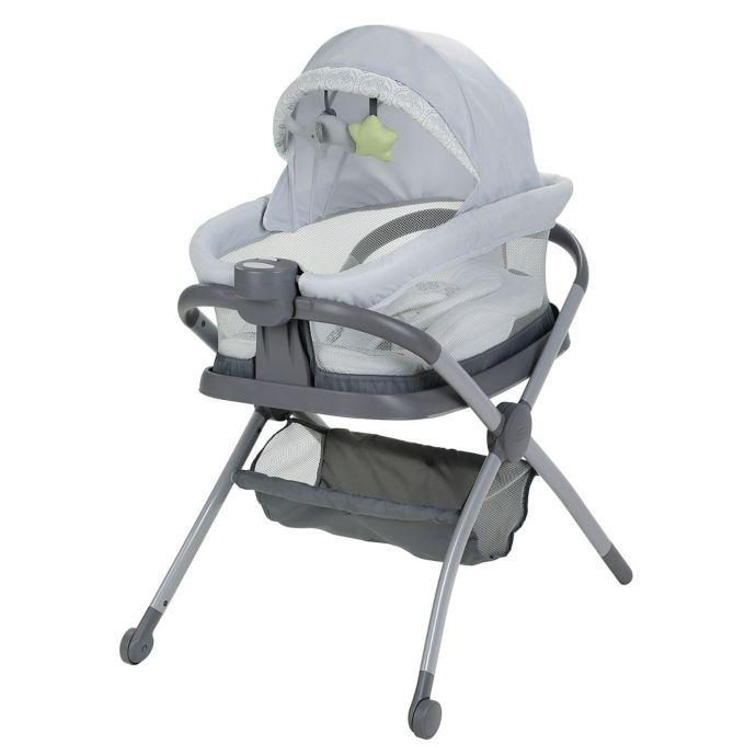 Graco Pack N Play Day2dream Playard Sleeper In Sterling Buybuy Baby Pack Play Pack N Play Baby