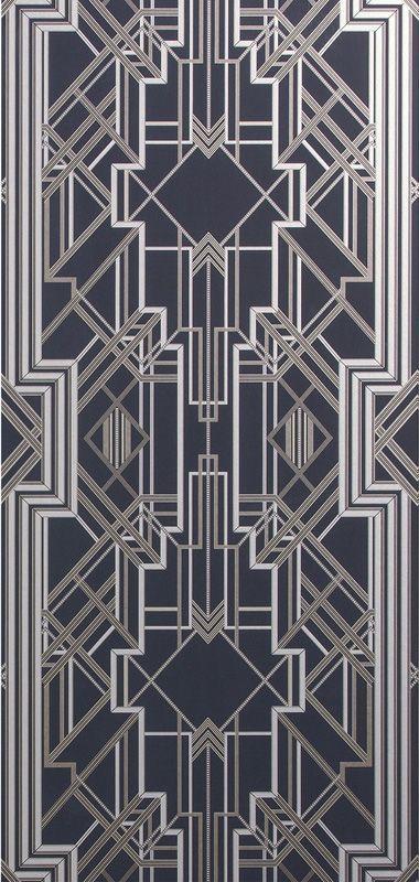 Zentangle Bedroom Wallpaper