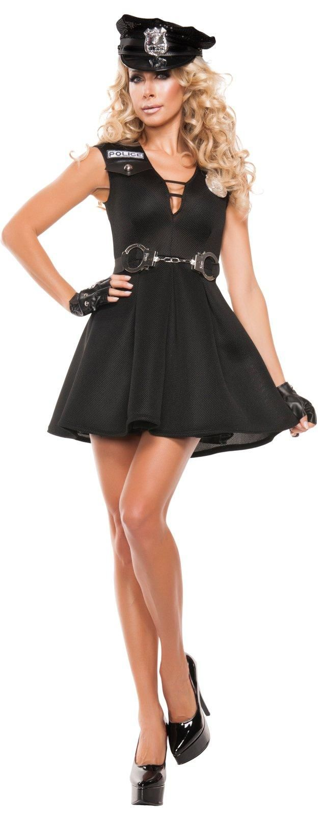 Womens Fashion Police Costume from Buycostumes.com