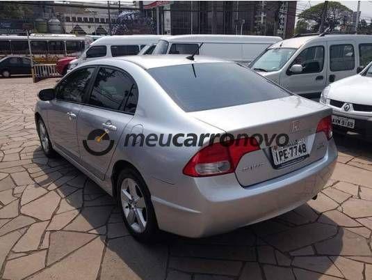 Honda Civic Lxs-at 1.8 16v(new)(flex) 4p (ag) Basico 2008 - Meu Carro Novo