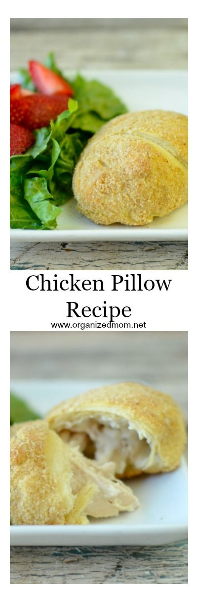 Our favorite dinner- Chicken pillows! this recipe is always a crowd pleaser. Dinner ideas!
