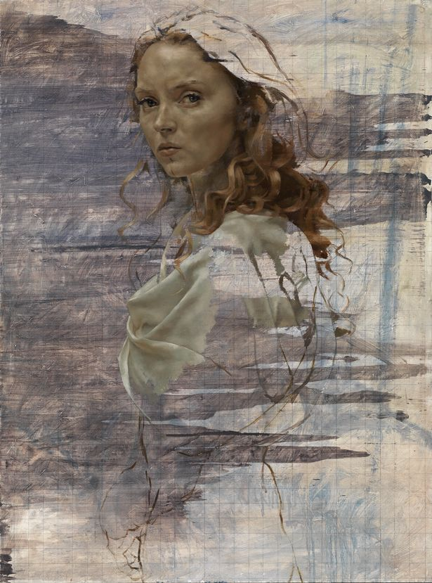 Lily Cole by Jonathan Yeo