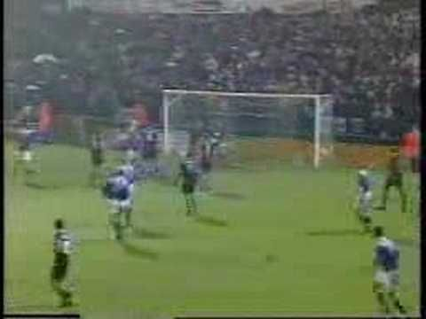 one of best own goals..what a head shot